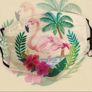 ❗️Restock 7/24 FLAMINGO Embroidered Face Mask